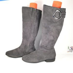 Impo Remember Grey Boots Size 6.5